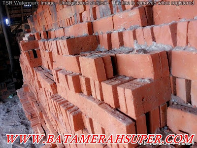 batu bata merah kokoh