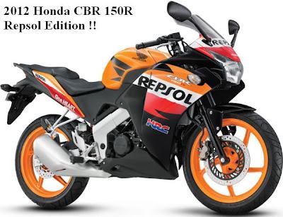 Honda CBR 150R Repsol Edition