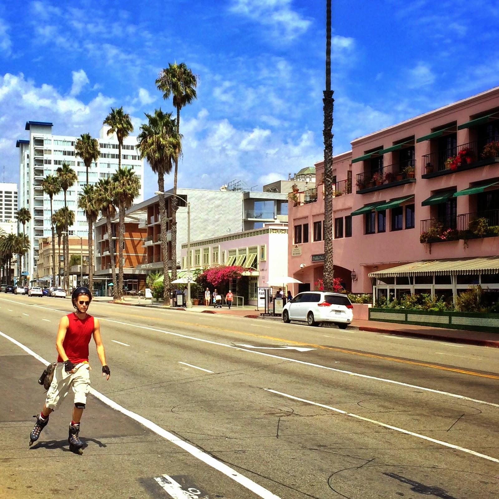 Santa Monica California by Jessica Mack aka SweetDivergence