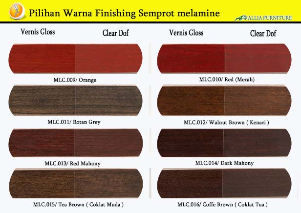 Warna Finishing Furniture Semprot Melamine 2