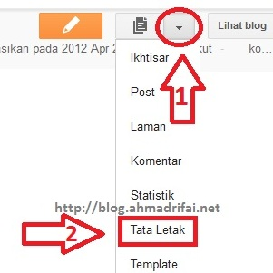 Cara Menghias Blog Blogger