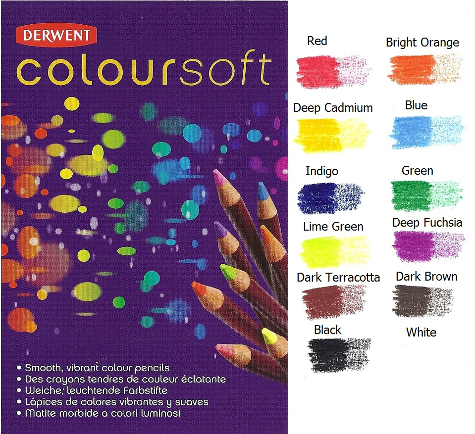 how to use derwent inktense colored pencils