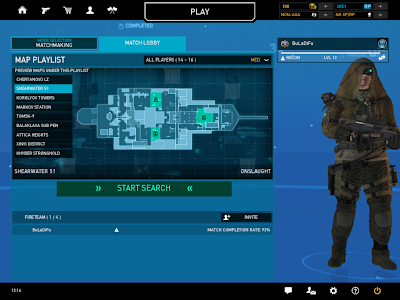 Ghost Recon Online - Shearwater 51 Map Lobby