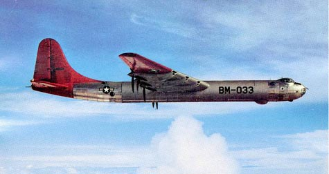 B-36D Peacemaker American's Bomber Aircraft