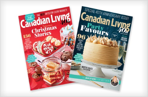 Wagjag Canadian Living 75% off 1 Year Magazine Subscription $12