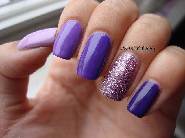 L.A. Girl - Purple Ombre Set