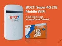 Pengalaman membeli Bolt! Mobile Wifi