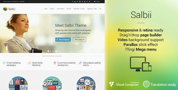 Responsive Multipurpose WordPress Theme