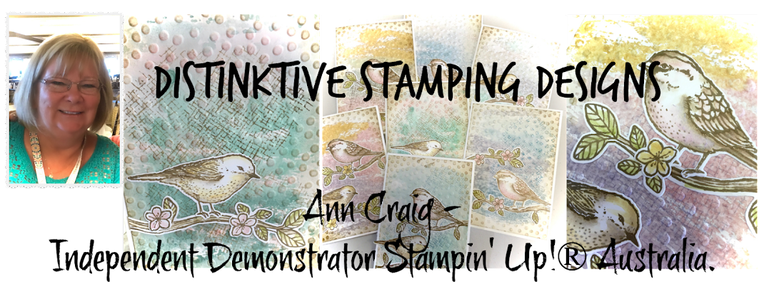 Stampin' Up!® Australia: Ann Craig - distINKtive STAMPING designs