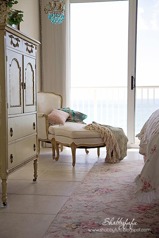 French Coastal Bedroom