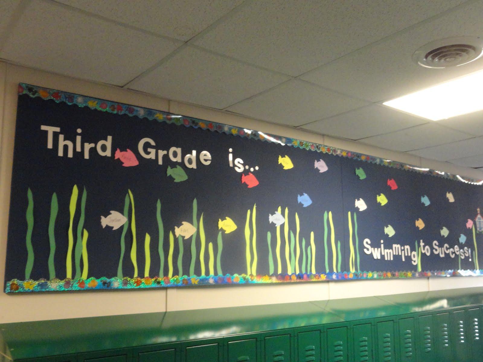 adventures in third grade  o u0026 39 fish u0026 39 ally 3rd graders