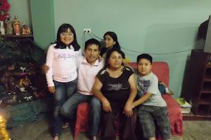 Familia en Noche Buena