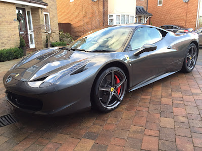Ferrari 458 looking spick and span again!