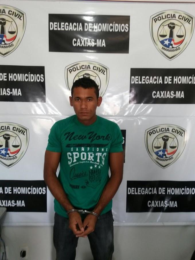 Polícia prende homem suspeito de cometer latrocínio perto do Hospital Regional de Caxias