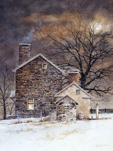 Ray Hendershot's watercolours