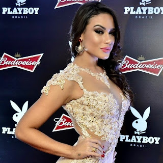 Patricia Jordane de 21 anos é a capa deste mês da Playboy