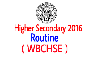 higher secondary 2016 routine id=