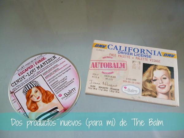 Dos nuevos productos (para mi) de The Balm