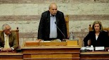Άφωνους άφησε ο πρόεδρος της Βουλής Νίκος Βούτσης του δημοσιογράφους αλλά και τους τηλεθεατές της ΕΡΤ με τις θολές του δηλώσεις περί του θρ...
