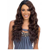 Freetress Equal Synthetic Lace Deep Diagonal Part Lace Front Wig FLIRTY DEEP