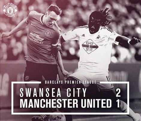 Swansea City vs Manchester United 2-1 Video Gol