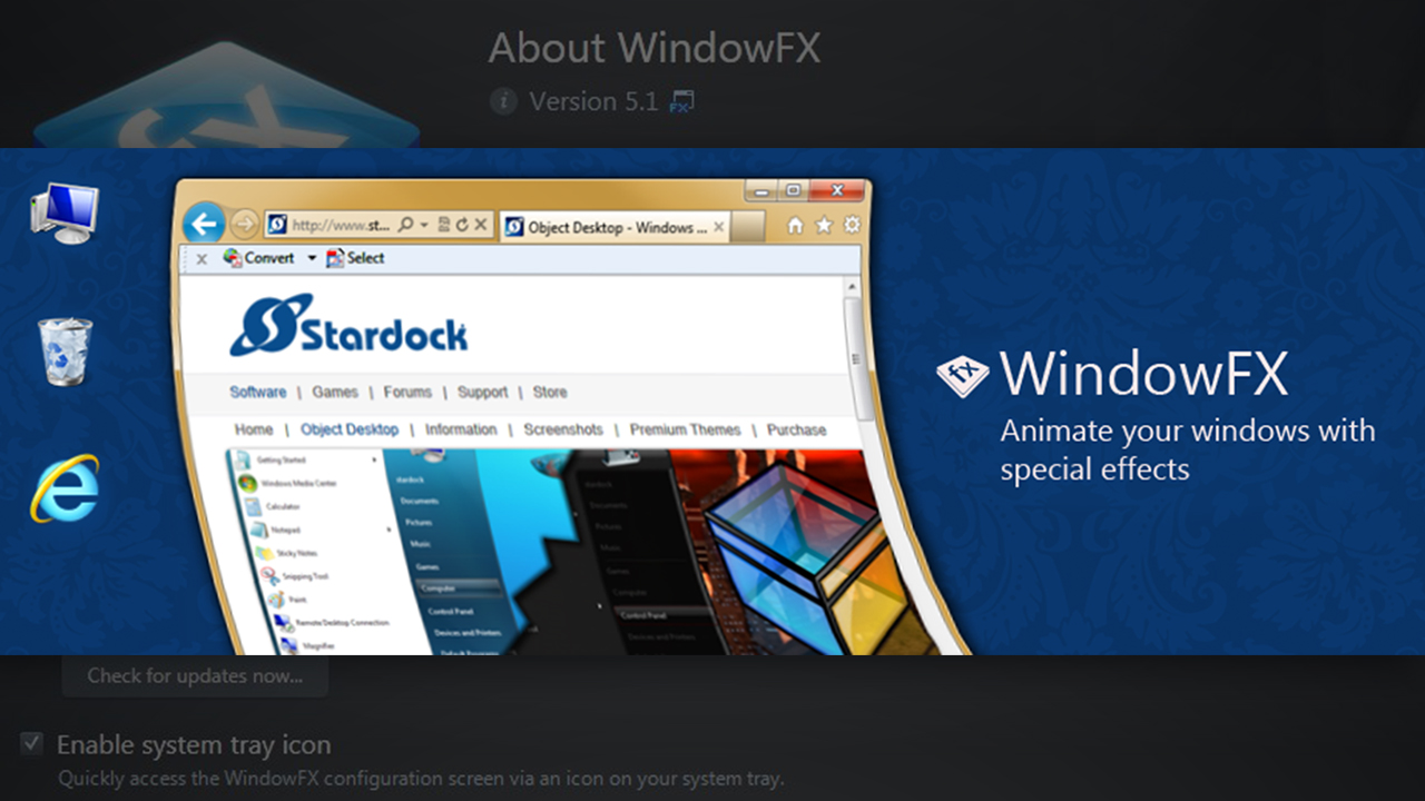 Free Download WindowFX 5.1 full version