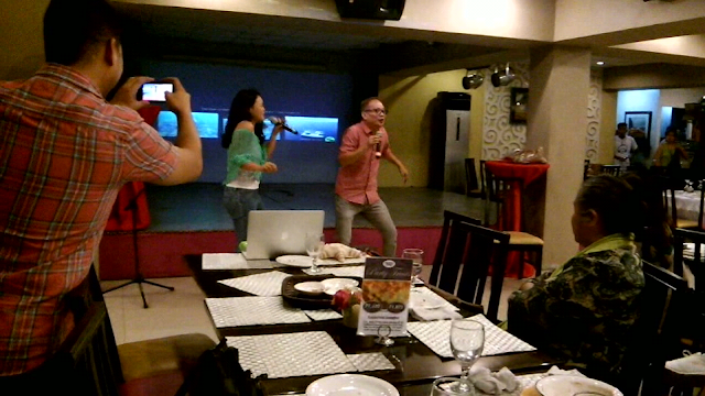 To cap off the evening, a splendid song number from Celine and Andy Bais, of The Ryan Cayabyab Singers.