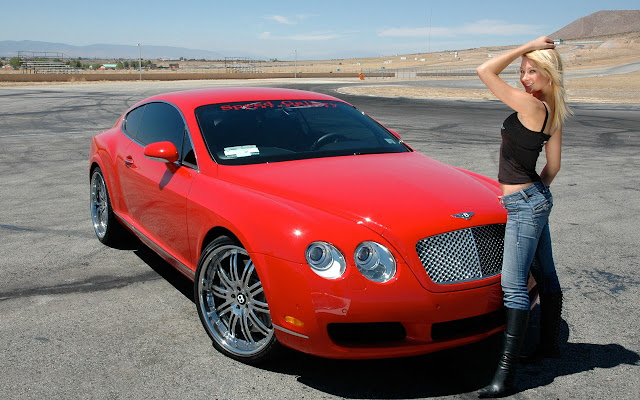 Bentley_Continental_GT_HD_Desktop_Wallpapers_sexy girls