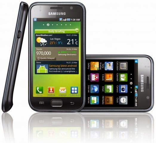 Harga Samsung Galaxy S1 I9000 Terbaru, Display Super AMOLED