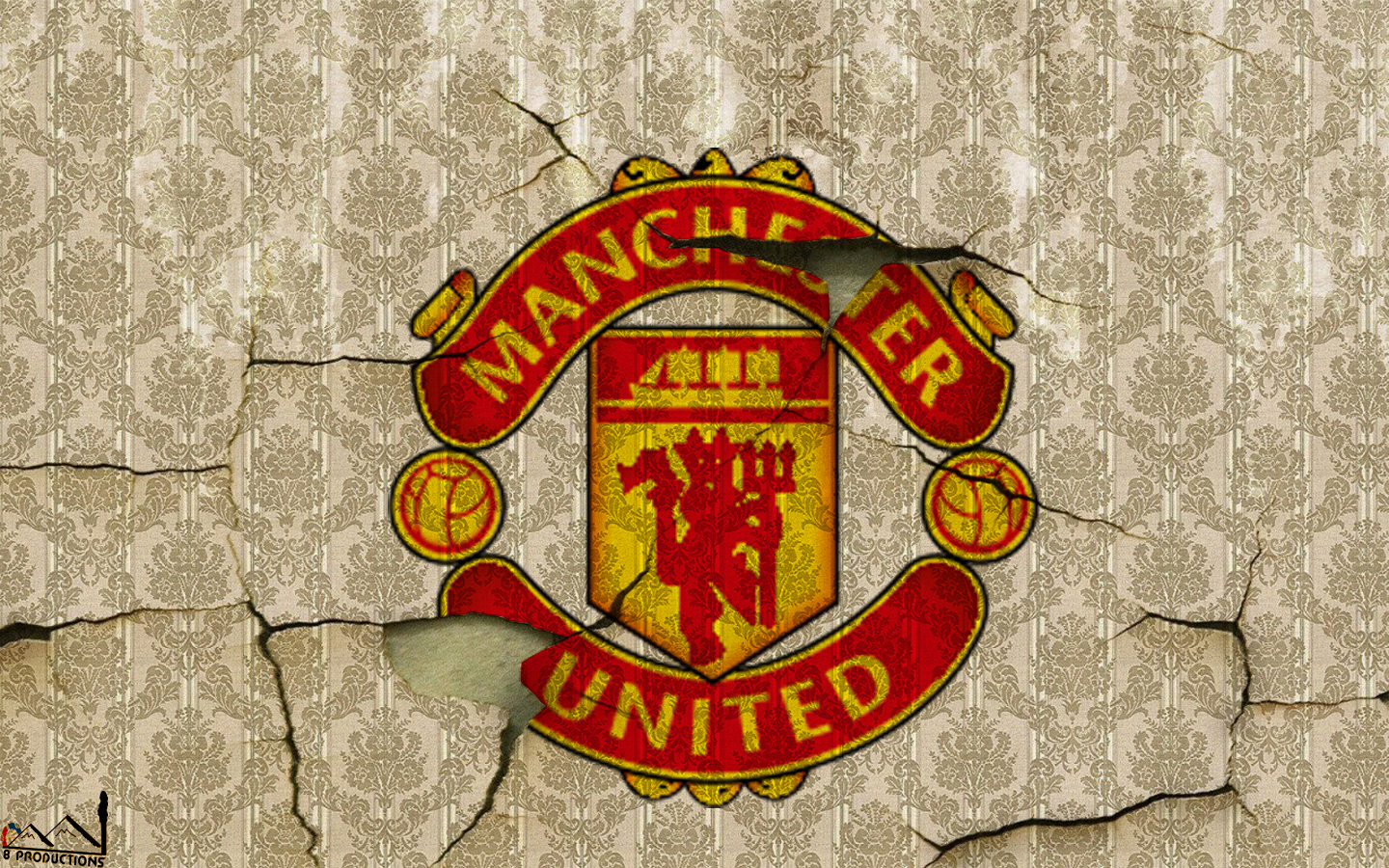 8 Productions: Manchester United logo