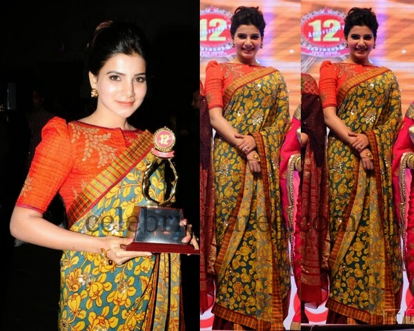 Samantha at Santhosham Awards Event