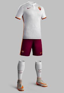 Detail jersey Tandang AS Roma 2015/2016 di enkosa sport toko online pakaian bola kualitas grade ori made in thailand