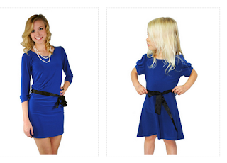 Super cute!! Matching outfits from meNmommy dresses Enter for a $25 GC