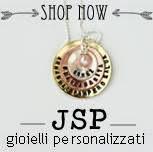 ENTRA NELLO SHOP ONLINE DI JSP. GIOIELLI PERSONALIZZATI HANDSTAMPED