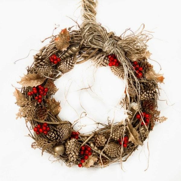 Из чего сделать рождественский венок своими руками пошагово