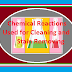 Important Cleaning and stain removing Chemicals and formulas for Household
