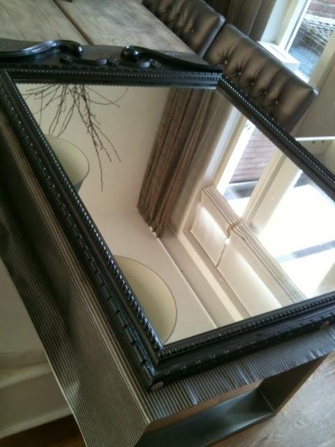 Wonen a la mar spiegeltje spiegeltje aan de wand - Zorgen voor een grote spiegel aan de wand ...