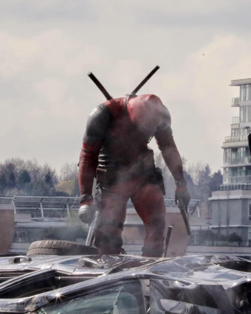 Deadpool in Vancouver