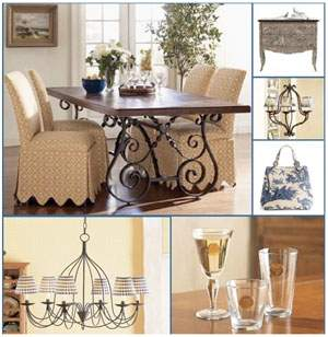 Interior design and decorating different look with unique for French home decorations