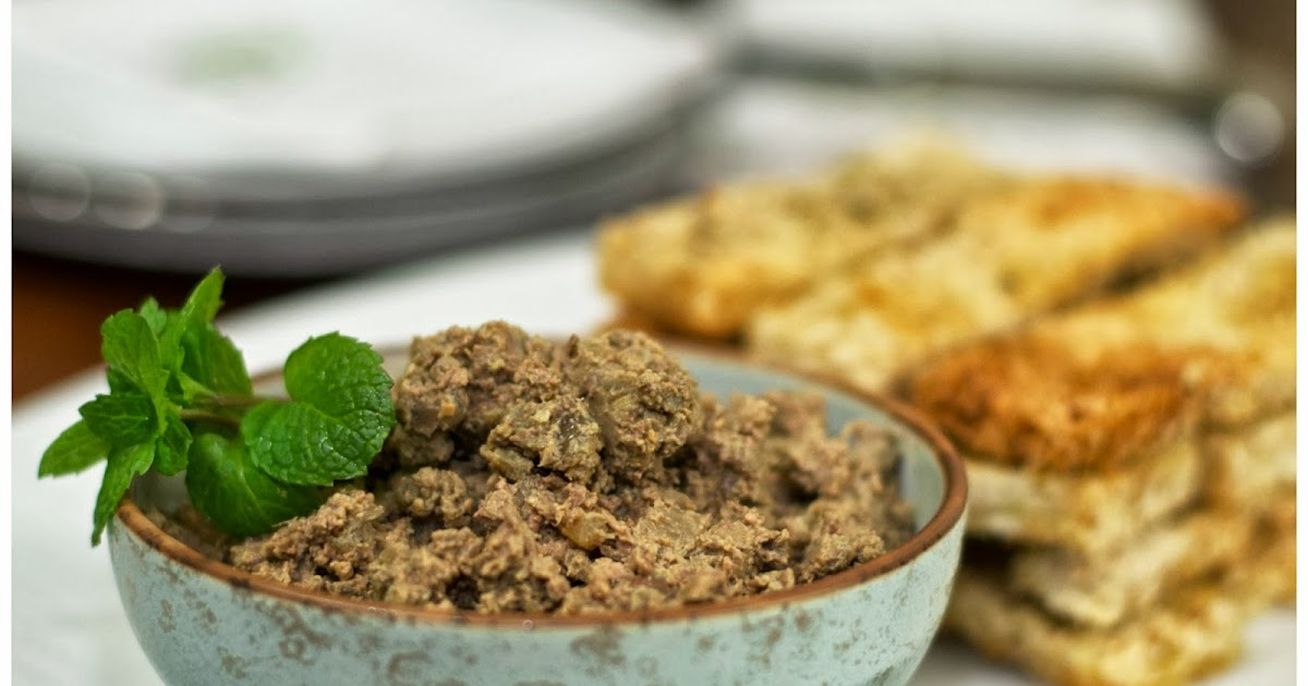 indonesian medan food rustic chicken liver pate pate