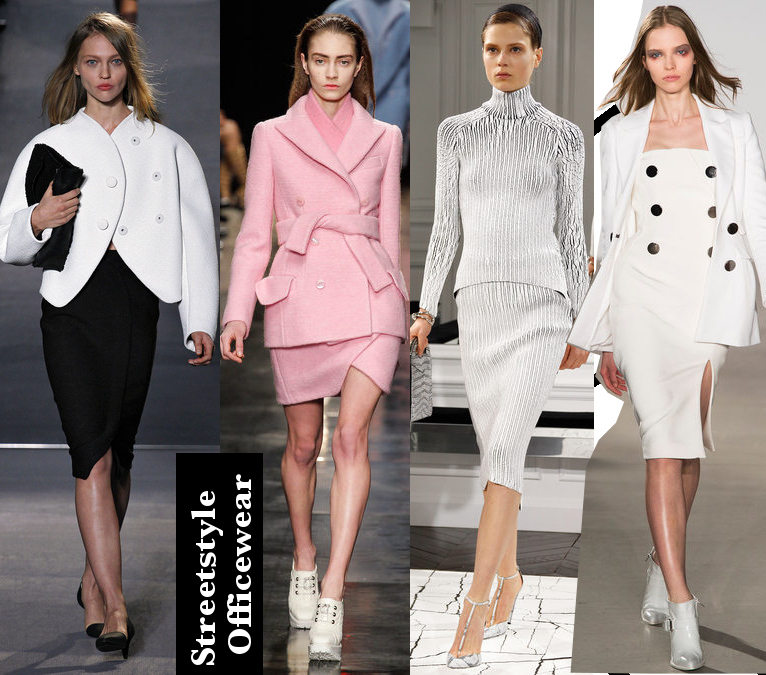 Women's Fall 2013/2014 Trends- Streetstyle to office looks