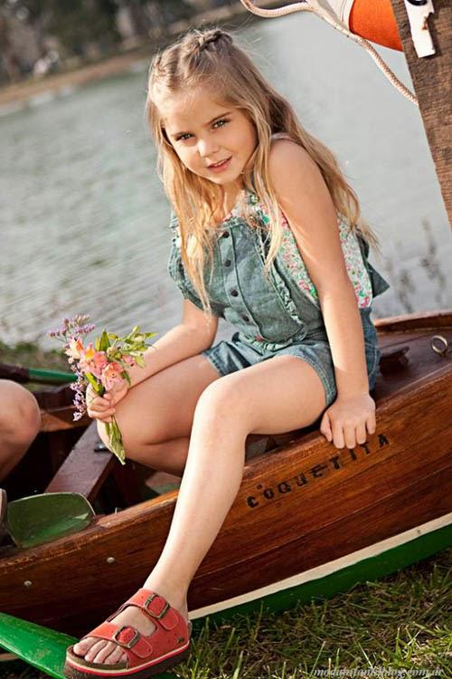 sandalias nenas plumitas verano 2014