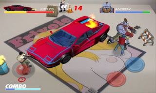 Screenshots of the Kavinsky for Android tablet, phone.