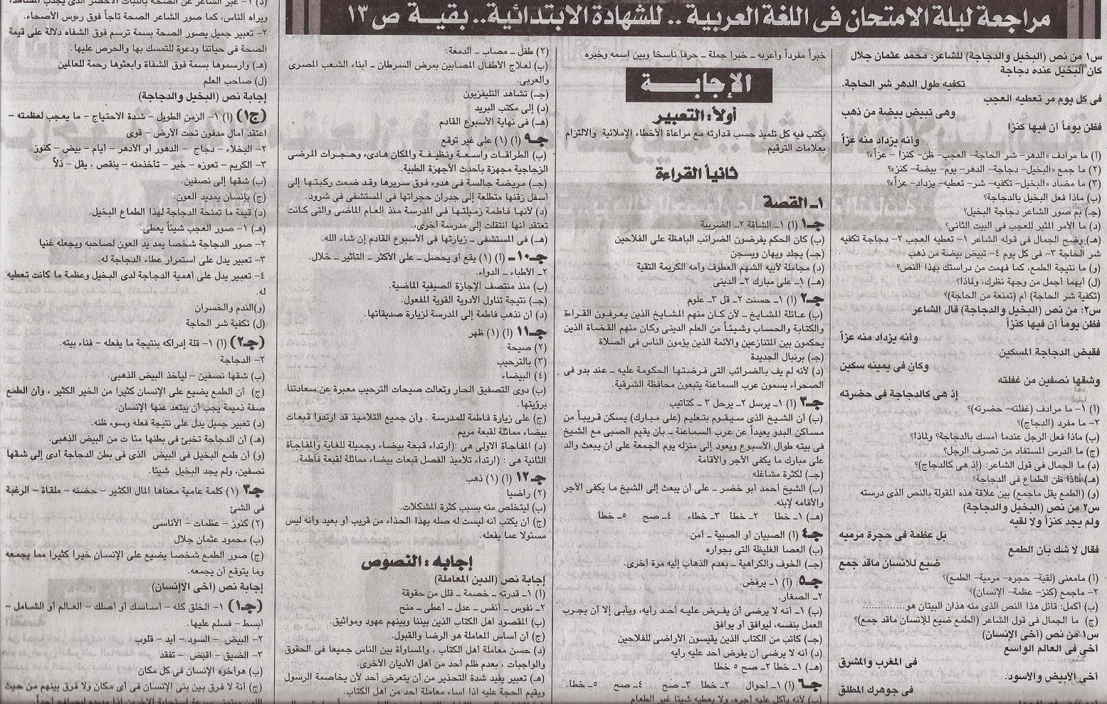 كل مراجعات ملاحق الجمهورية للترم الأول 2015 للشهادة الإبتدائية المنهاج المصري scan0118.jpg