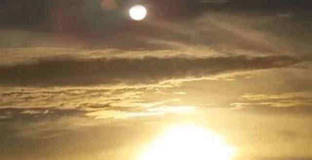 Αγνώστου ταυτότητας «σφαίρα» εμφανίστηκε στον ουρανό πάνω από τον Ήλιο