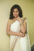 gowthami chowdary glamorous in saree-thumbnail-10