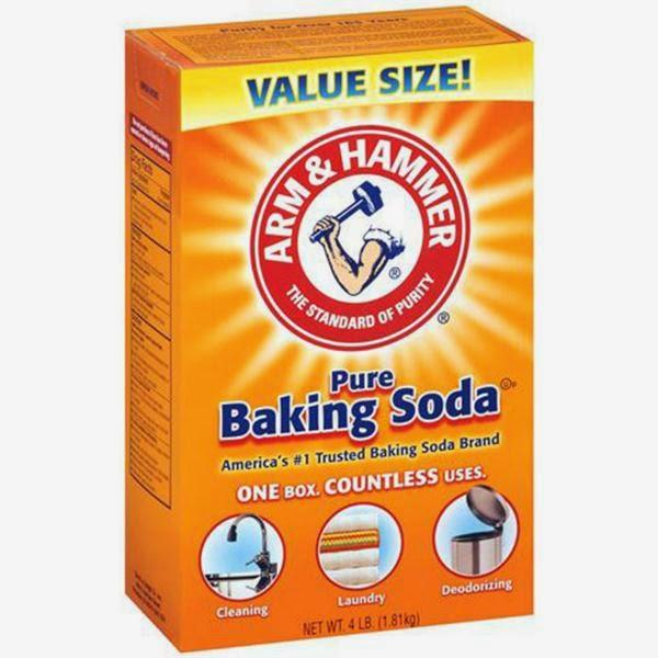 Trị mụn đầu trắng tại nhà bằng bột Baking Soda