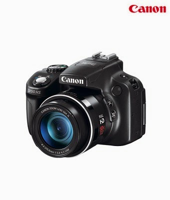 Canon PowerShot SX50 Camera + 4gb card + case Rs.14980 || Amazon