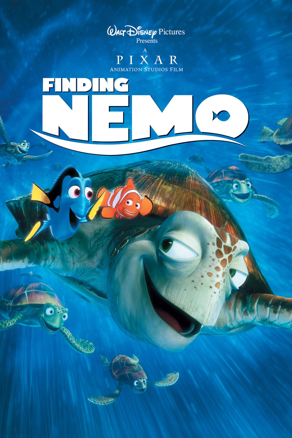 The geeky nerfherder movie poster art finding nemo 2003 for Finding nemo fish names