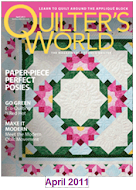 Quilter&#39;s World April 2011